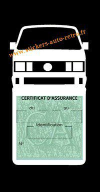 Etui vignette assurance T4 Volkswagen