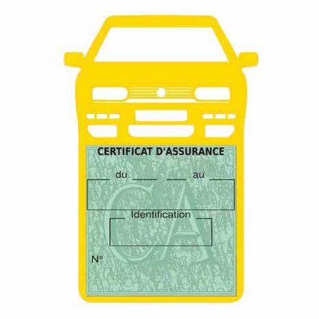 Golf 3 vignette assurance voiture Volkswagen jaune