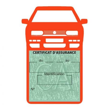 Golf 3 vignette assurance voiture Volkswagen orange