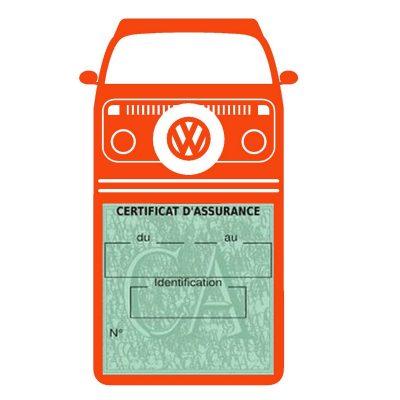 T2 DEVON Volkswagen vignette assurance voiture
