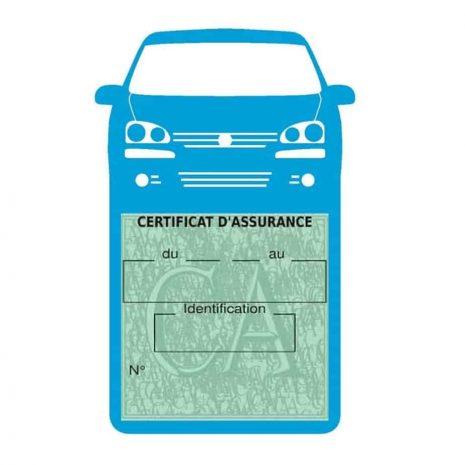 GOLF 6 Vignette assurance voiture Volkswagen bleu clair