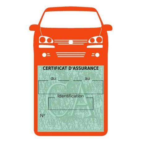 GOLF 6 Vignette assurance voiture Volkswagen orange