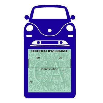 NEW BEETLE porte étui vignette assurance voiture