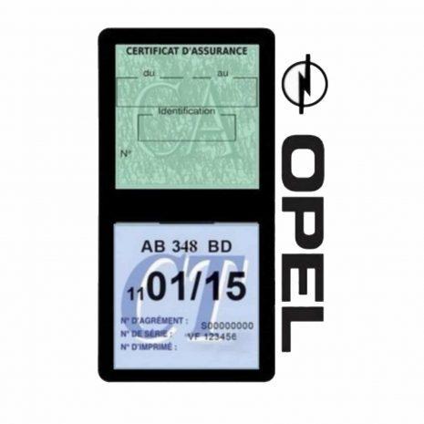 Opel assurance double étui vignette