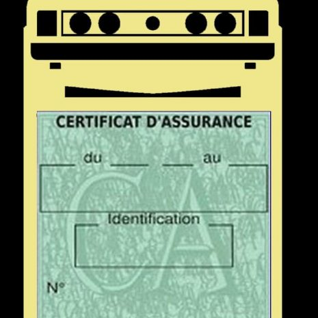 Porte vignette assurance auto Scirocco Volkswagen beige