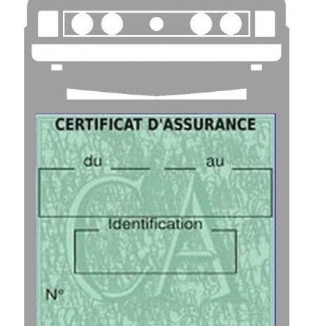 Etui assurance auto Scirocco 1 Volkswagen