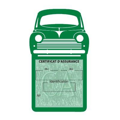 Peugeot 203 étui assurance voiture