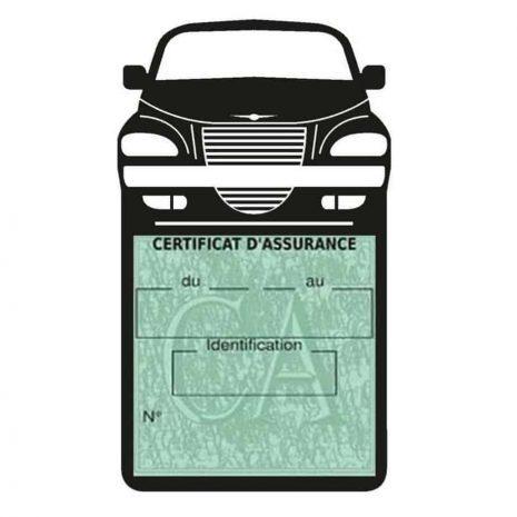 Etui assurance voiture PT Cruiser Chrysler noir