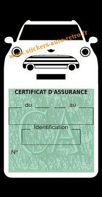 Etui auto assurance BMW Mini Cooper-S