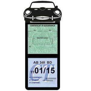 Porte assurance méga assurance voiture Jaguar Type E