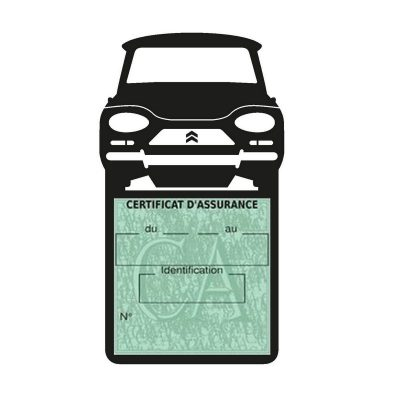 Etui porte assurance voiture Ami8 Citroën