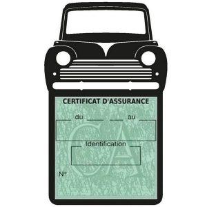 Etui pochette assurance auto Peugeot 203 Coupé