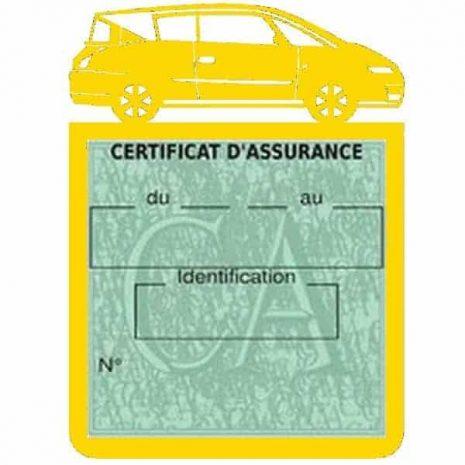Vignette assurance voiture AVANTIME Renault jaune