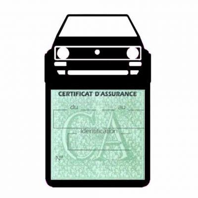 Porte vignette voiture Golf1 Volkswagen