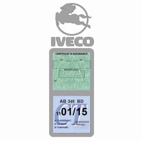IVECO Vignette Assurance Poids Lourds gris