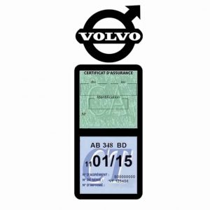 VOLVO TRUCKS Etui Vignette Assurance Poids Lourds