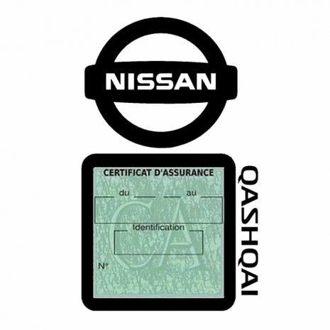 QASHQAI NISSAN étui assurance voiture