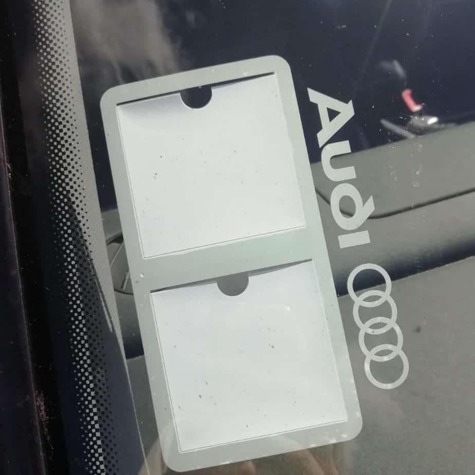 Audi blanc