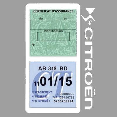 CITROEN DS4 étui assurance voiture